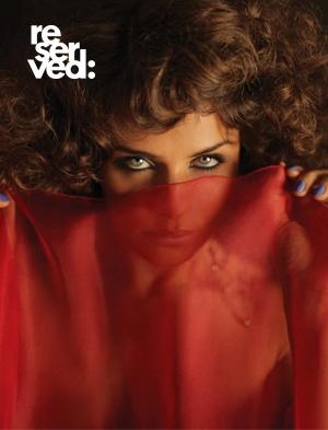 Reserved magazine Issue #2 cover - Helena Christensen.