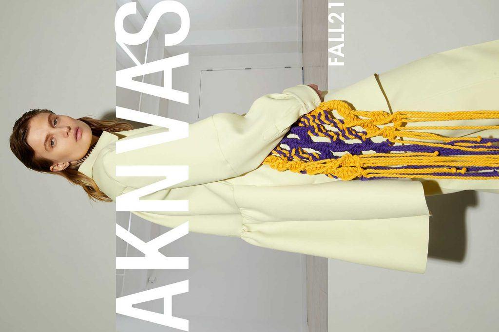 AKNVAS FW21 - Opener. Reserved magazine.