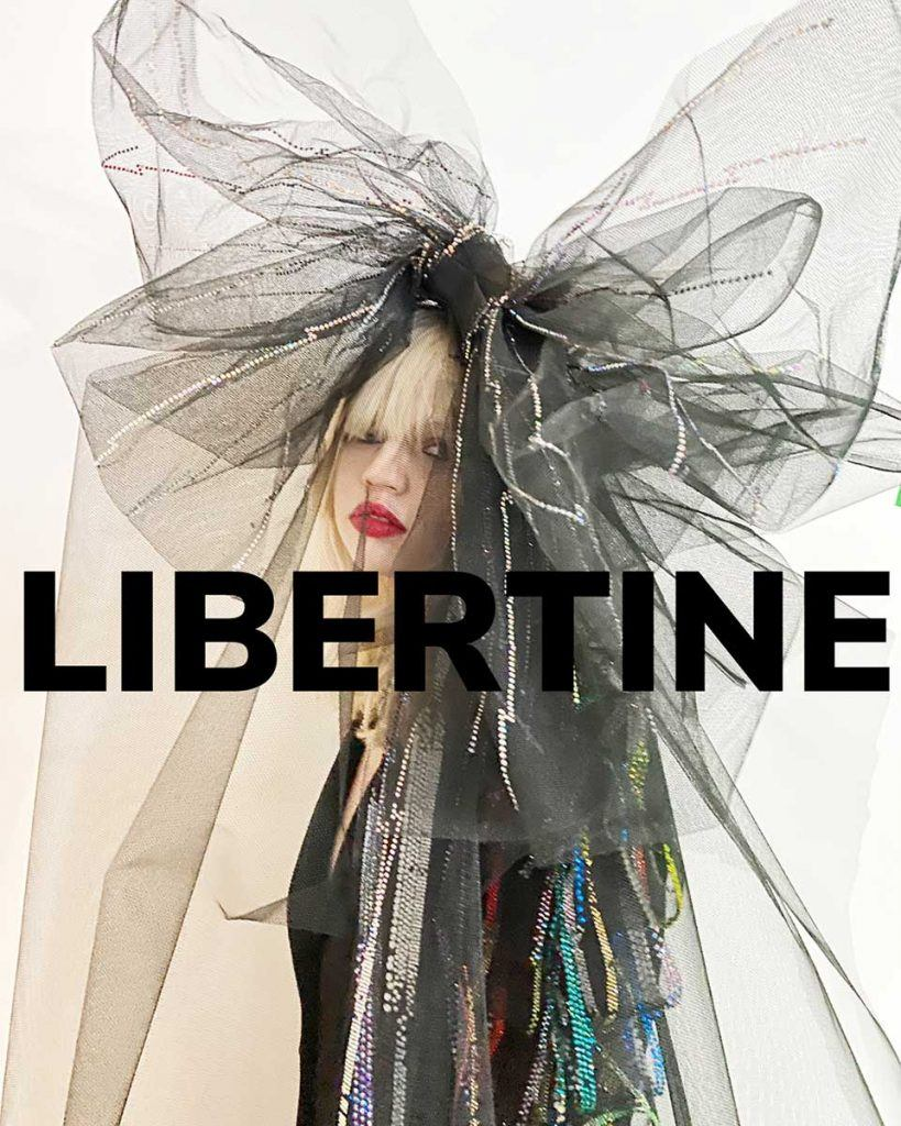 Libertine for Fall2021. Reserved magazine.