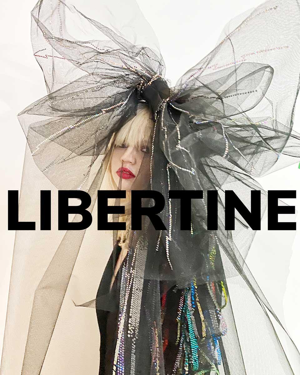 Libertine for Fall2021. Reserved magazine.
