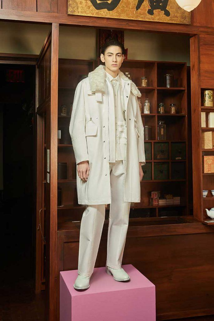 Private Policy FW21 - look #10. Reserved magazine.