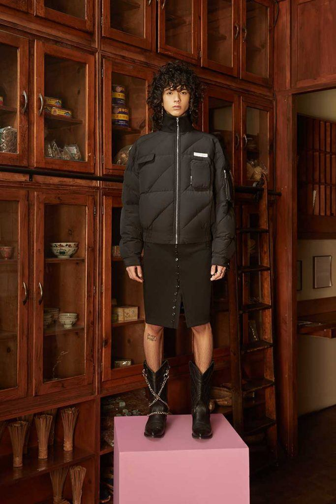 Private Policy FW21 - look #15. Reserved magazine.
