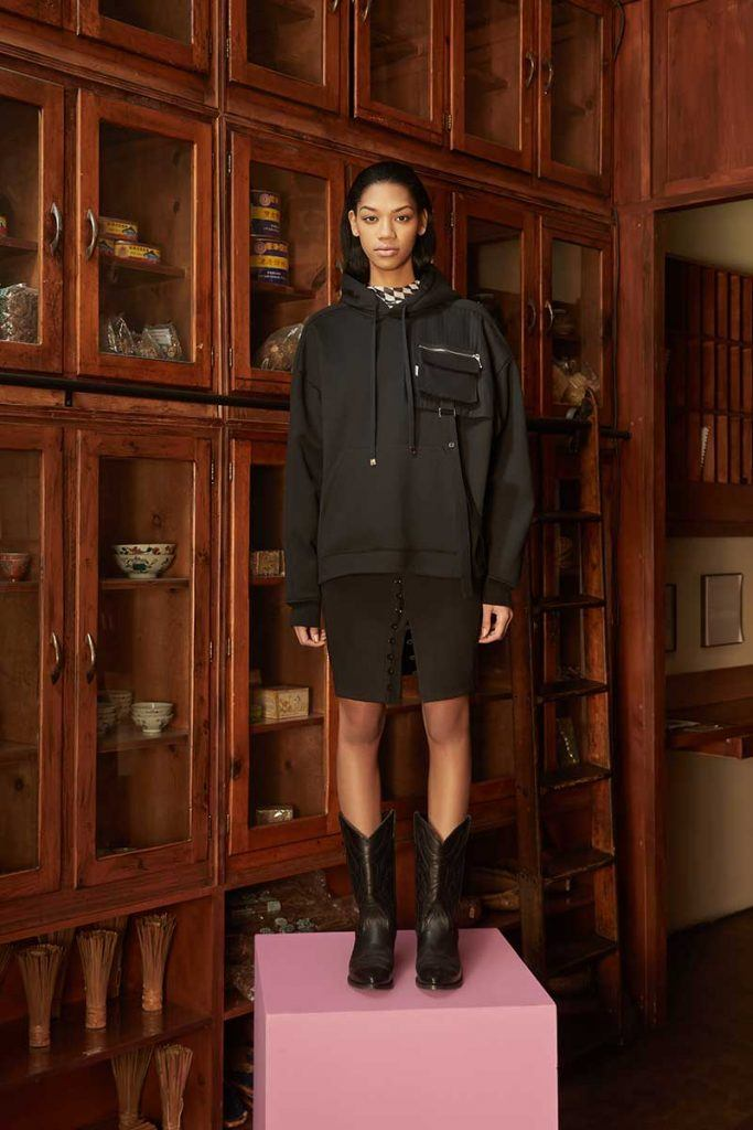 Private Policy FW21 - look #16. Reserved magazine.