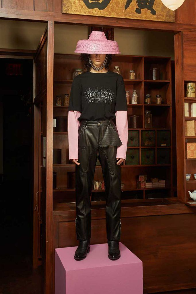 Private Policy FW21 - look #18. Reserved magazine.
