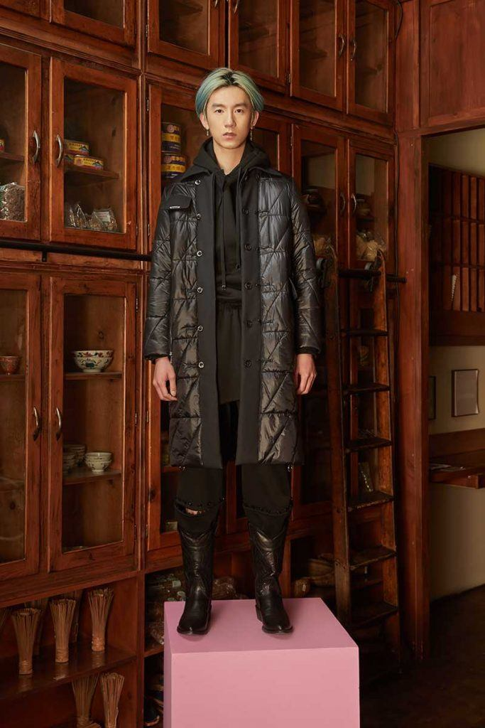 Private Policy FW21 - look #21. Reserved magazine.