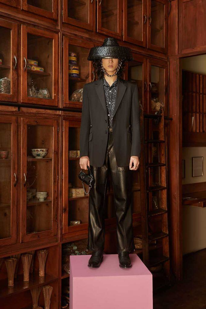 Private Policy FW21 - look #22. Reserved magazine.