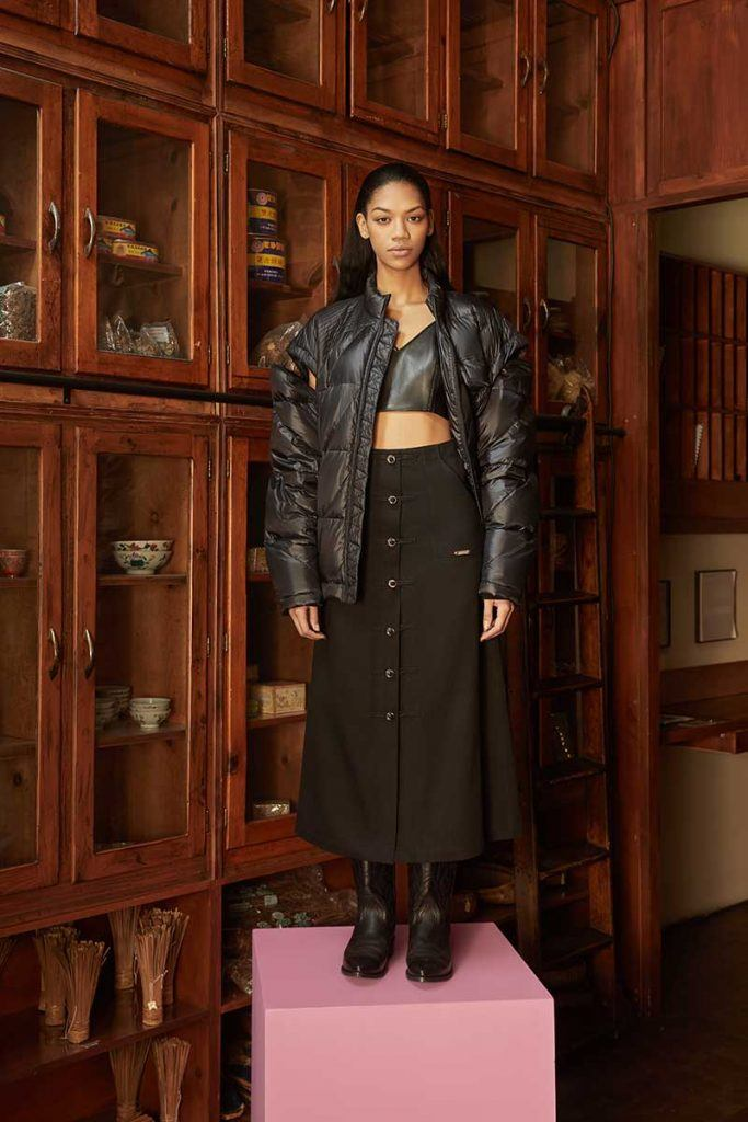 Private Policy FW21 - look #23. Reserved magazine.