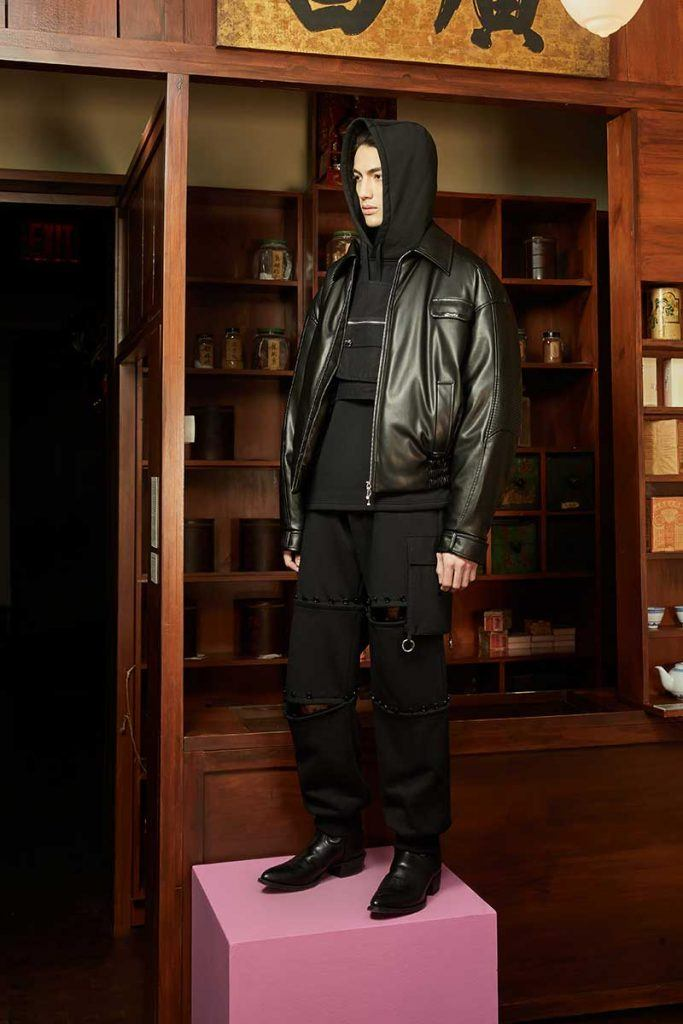 Private Policy FW21 - look #24. Reserved magazine.