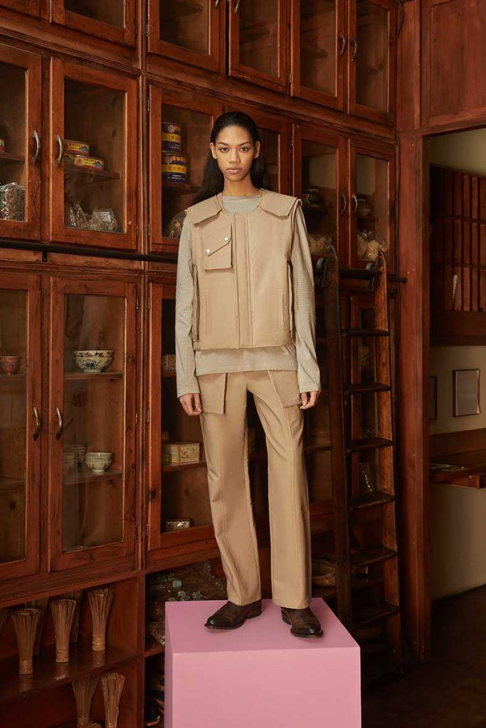 Private Policy FW21 - look #26. Reserved magazine.