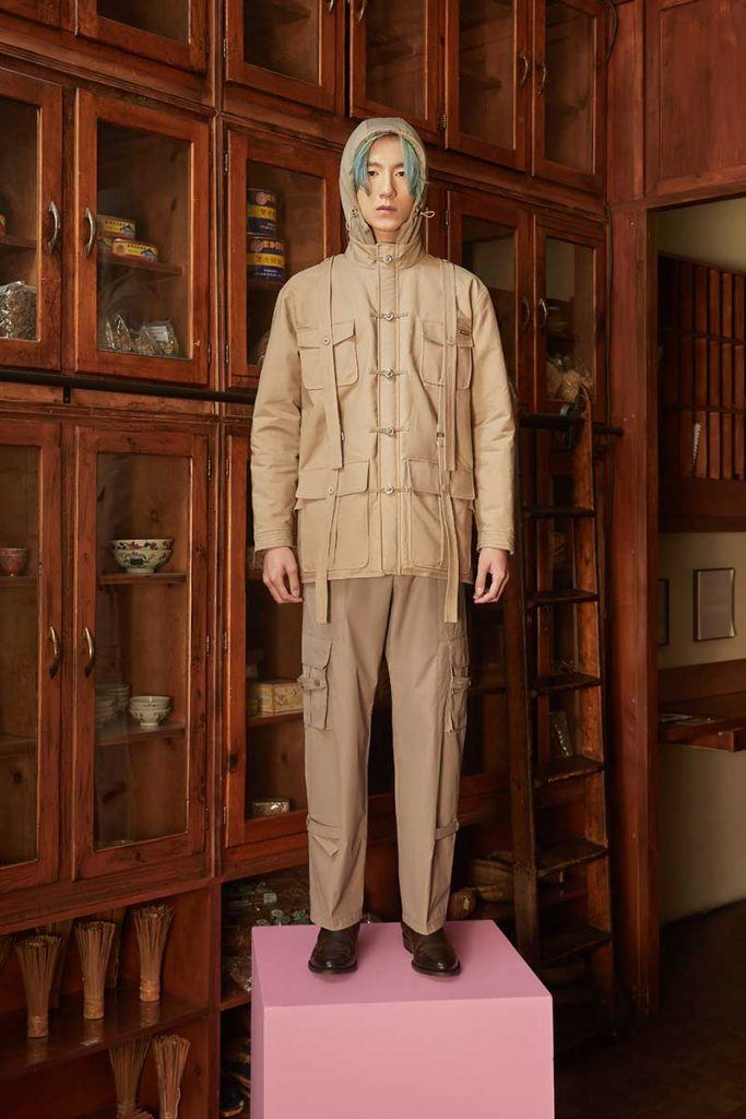 Private Policy FW21 - look #27. Reserved magazine.