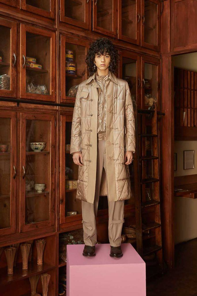 Private Policy FW21 - look #28. Reserved magazine.