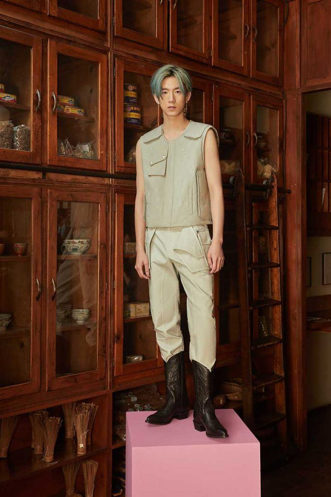 Private Policy FW21 - look #30. Reserved magazine.