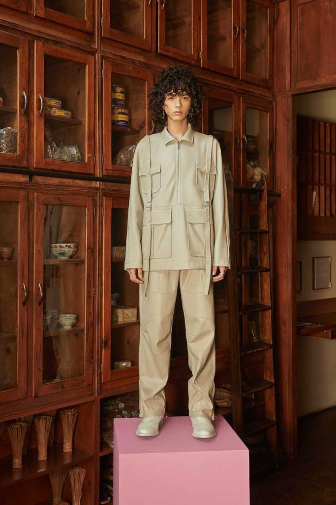 Private Policy FW21 - look #33. Reserved magazine.