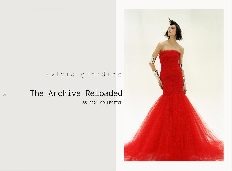 Sylvio Giardina Spring/Summer 2021 Haute Couture look book.