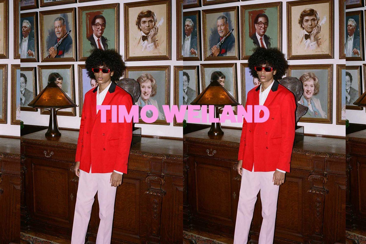 Timo Weiland menswear Fall/Winter 2021. Reserved magazine.