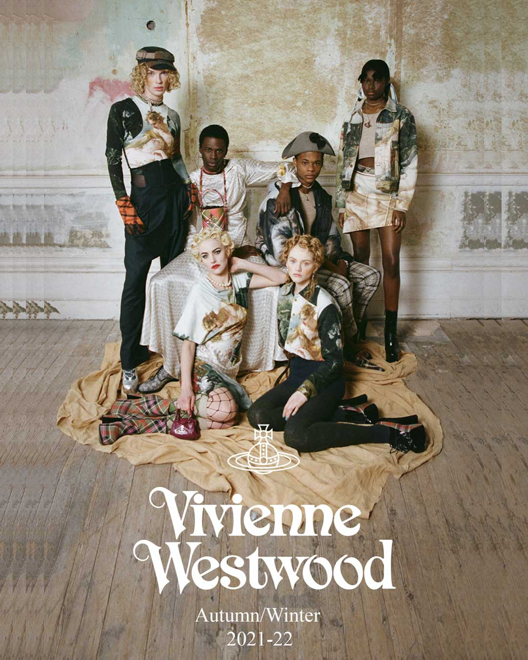Vivienne Westwood Autumn-Winter 2021-22 - Cover #2. Reserved magazine.