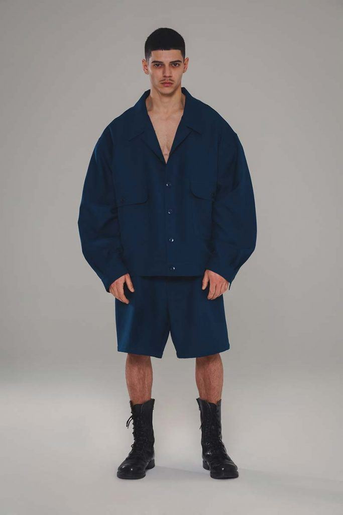 Willy Chavarria AW21 - look #11. Reserved magazine.