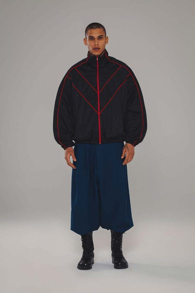 Willy Chavarria AW21 - look #16. Reserved magazine.