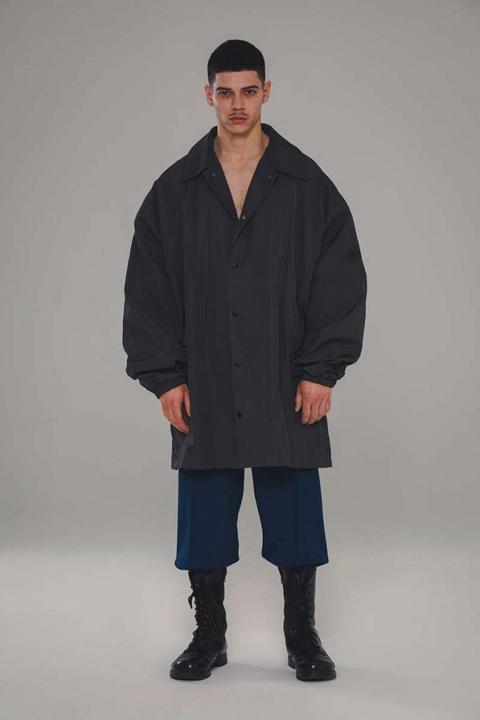 Willy Chavarria AW21 - look #18. Reserved magazine.