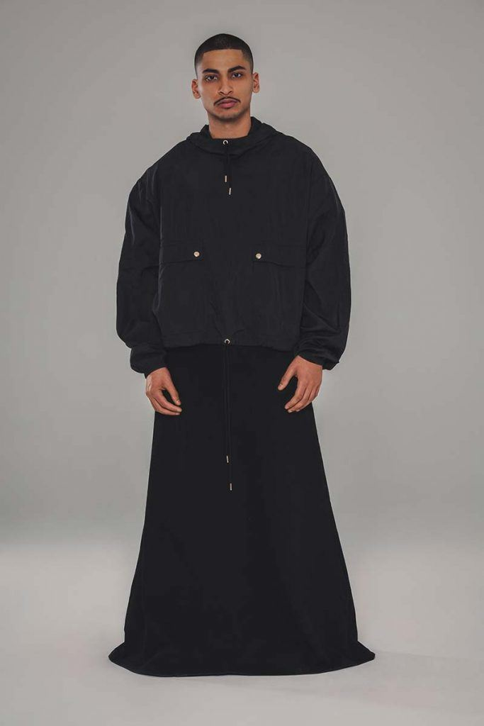 Willy Chavarria AW21 - look #19. Reserved magazine.