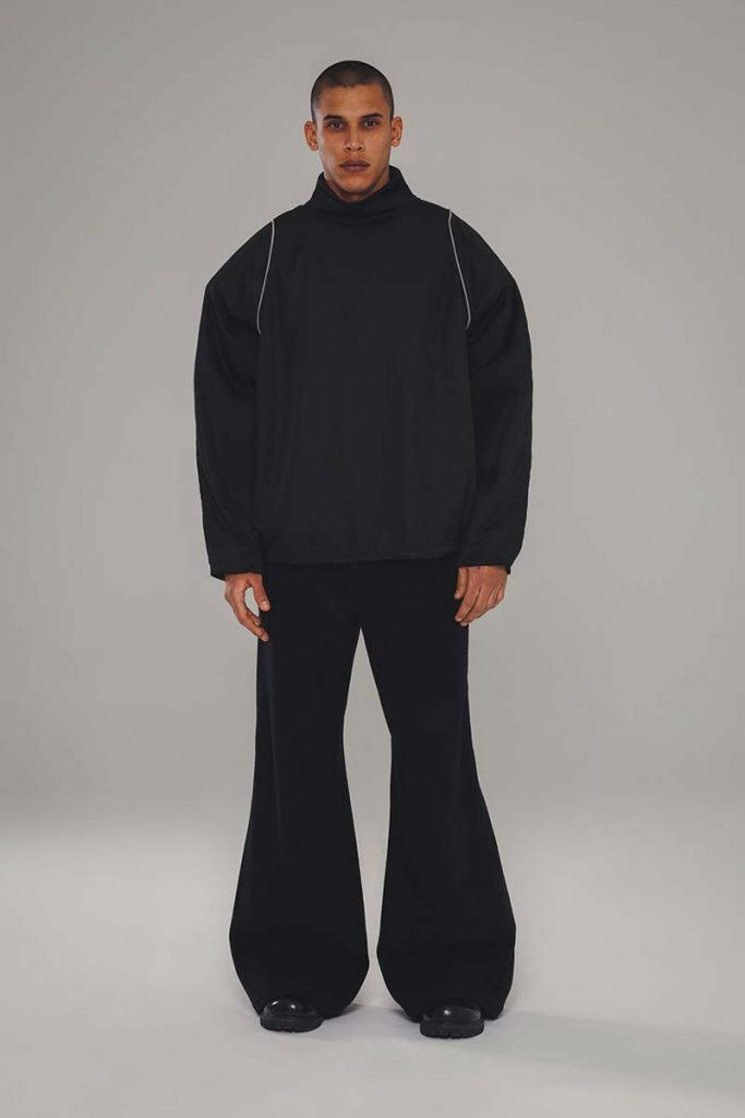 Willy Chavarria AW21 - look #23. Reserved magazine.