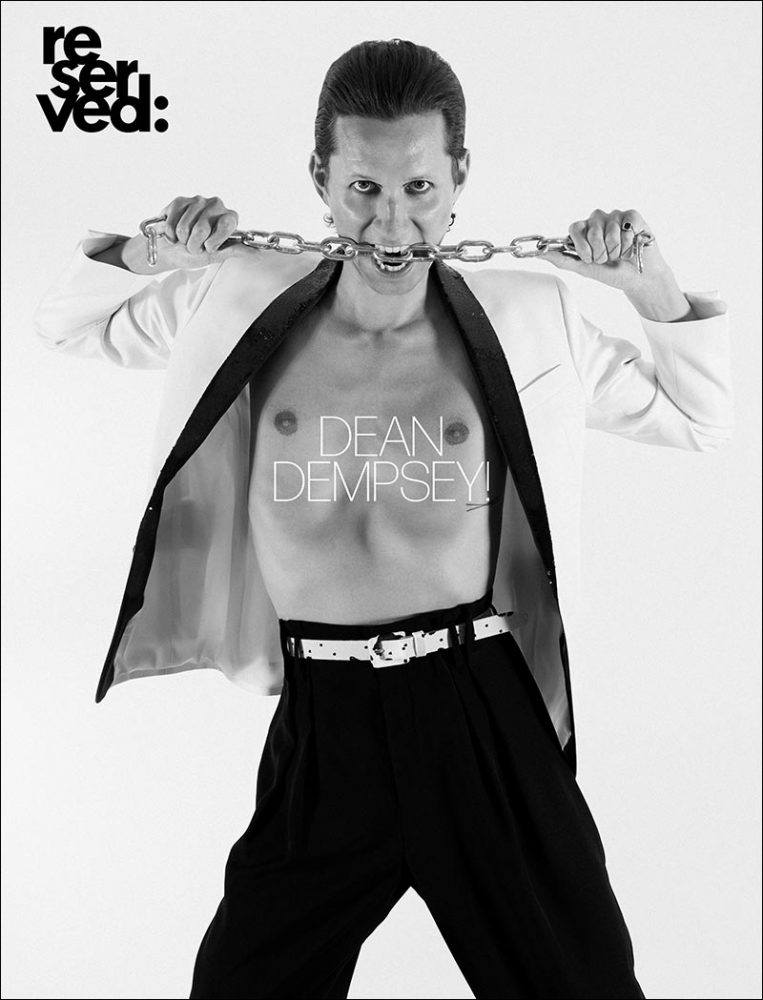 Dean Dempsey cover for Reserved magazine by Alexander Thompson.