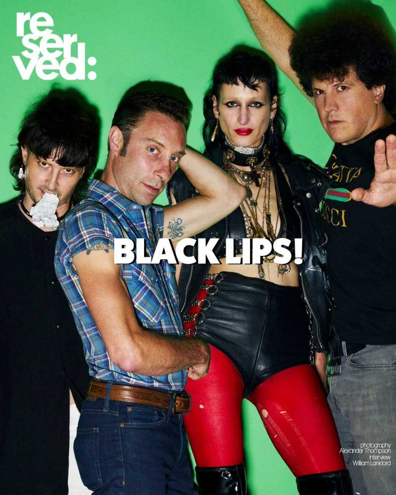 Black Lips for Reserved magazine. Photographed by Alexander Thompson.
